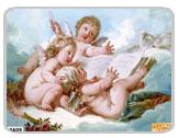фрески на стену - серия ангелы