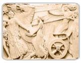 фрески на стену - серия скульптуры