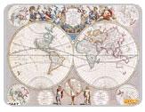 фрески на стену - серия старинные карты