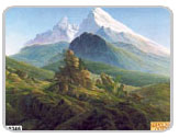 фрески на стену - серия горы