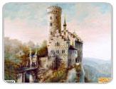 фрески на стену - серия замки